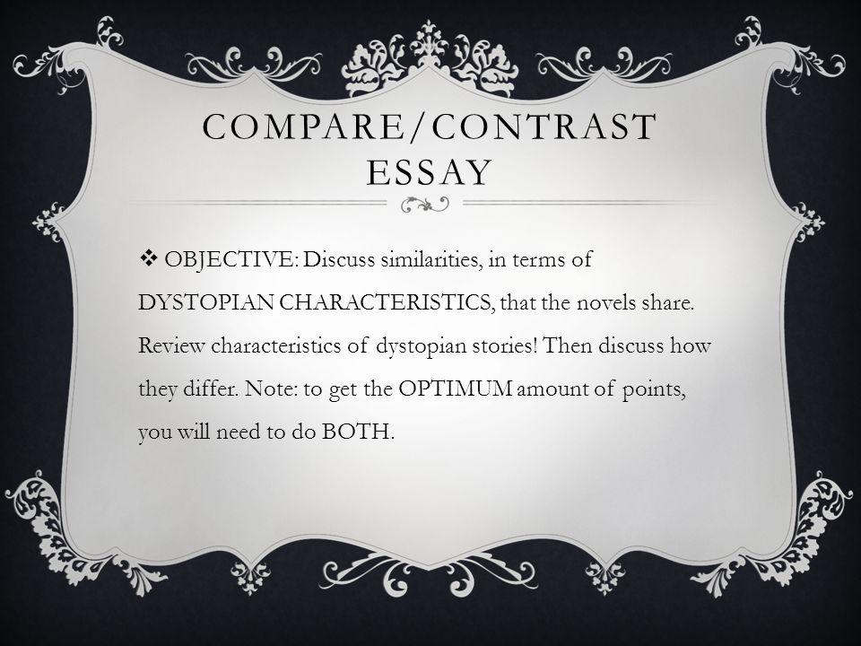 comparison essay on novels