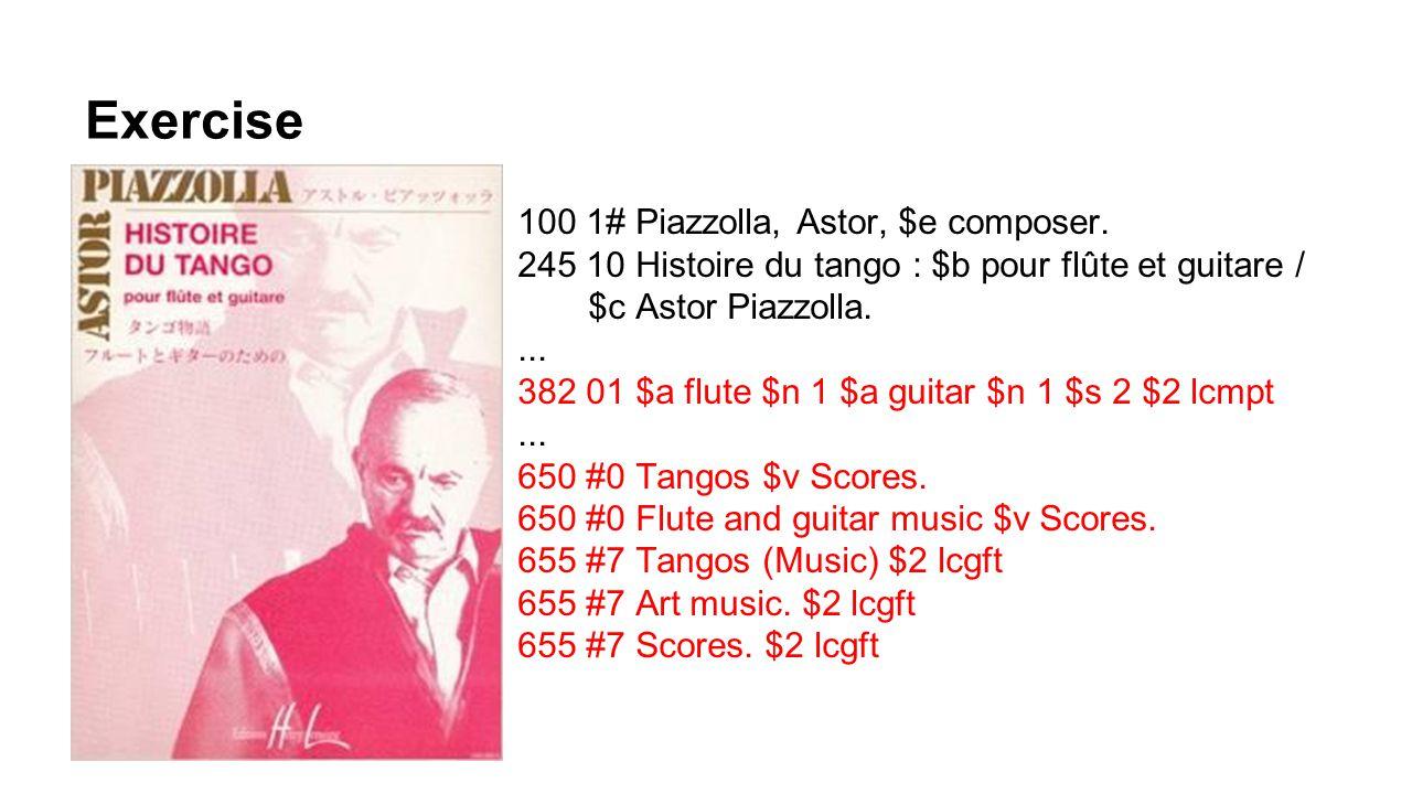 Exercise 100 1# Piazzolla, Astor, $e composer.
