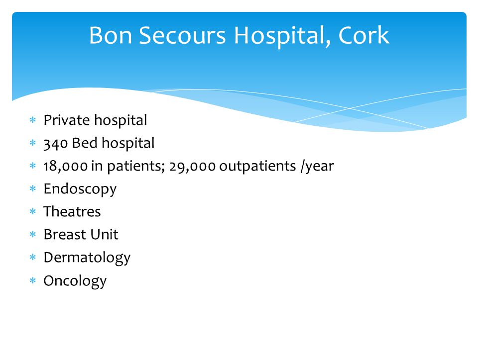 Bon Secours Hospital, Cork