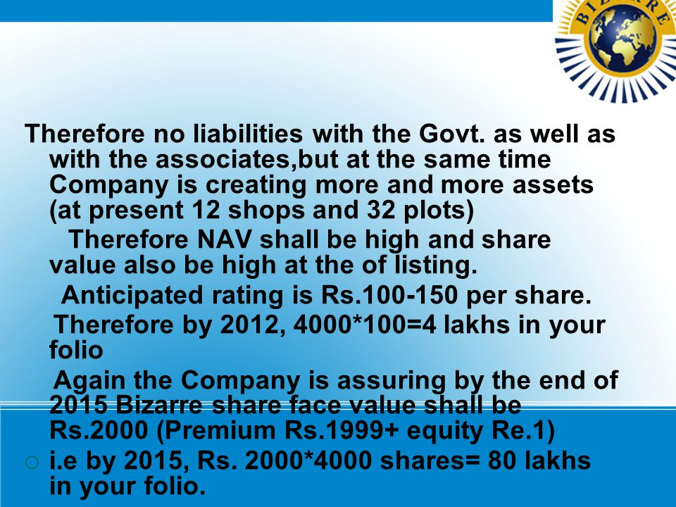 Anticipated rating is Rs.100-150 per share.