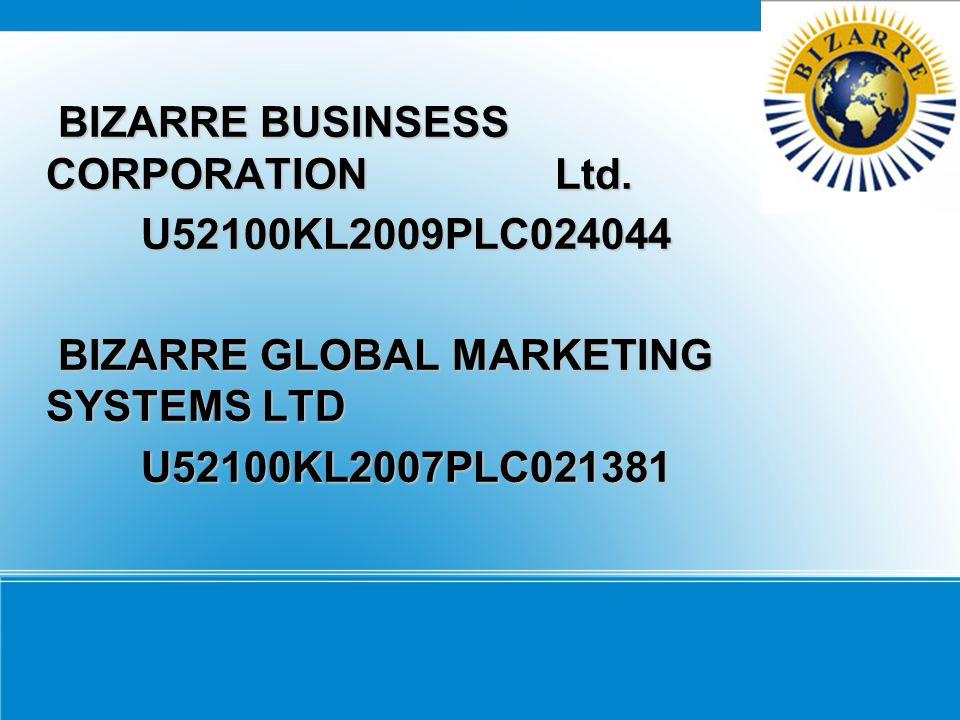 BIZARRE BUSINSESS CORPORATION Ltd.