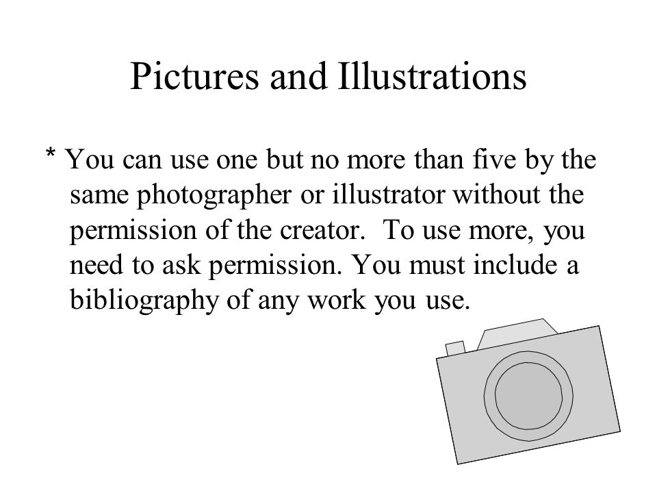 Pictures and Illustrations