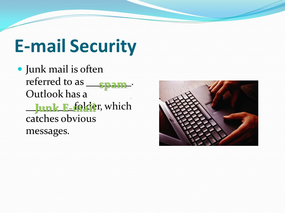 E-mail Security spam Junk E-mail