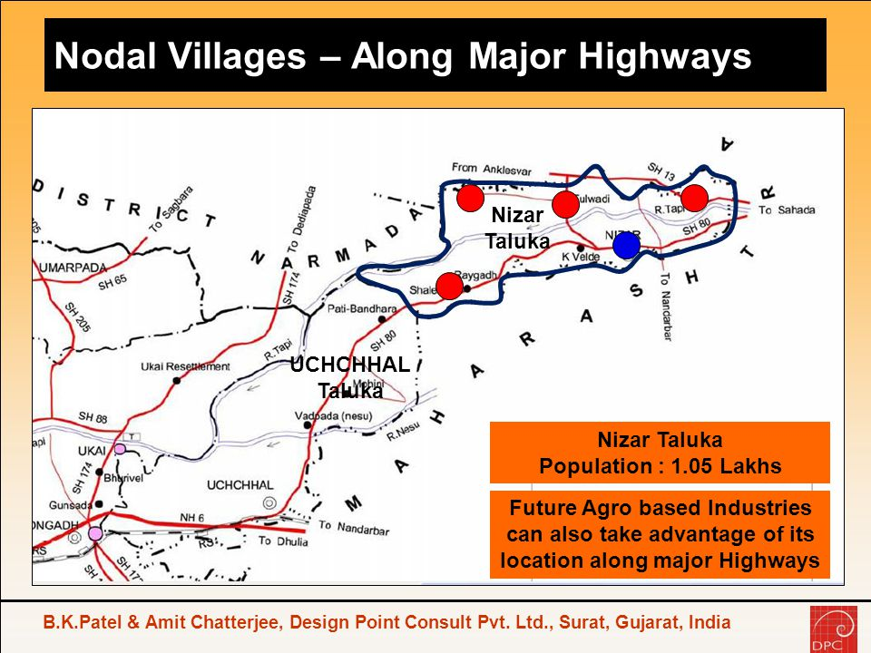 Nodal Villages – Along Major Highways