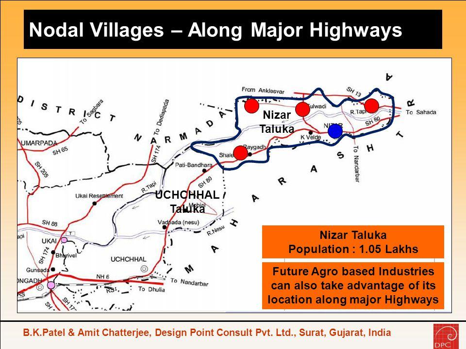 Nodal Villages – Along Major Highways