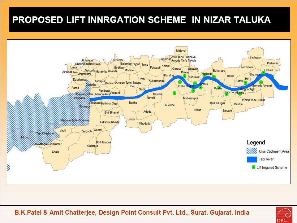 PROPOSED LIFT INNRGATION SCHEME IN NIZAR TALUKA