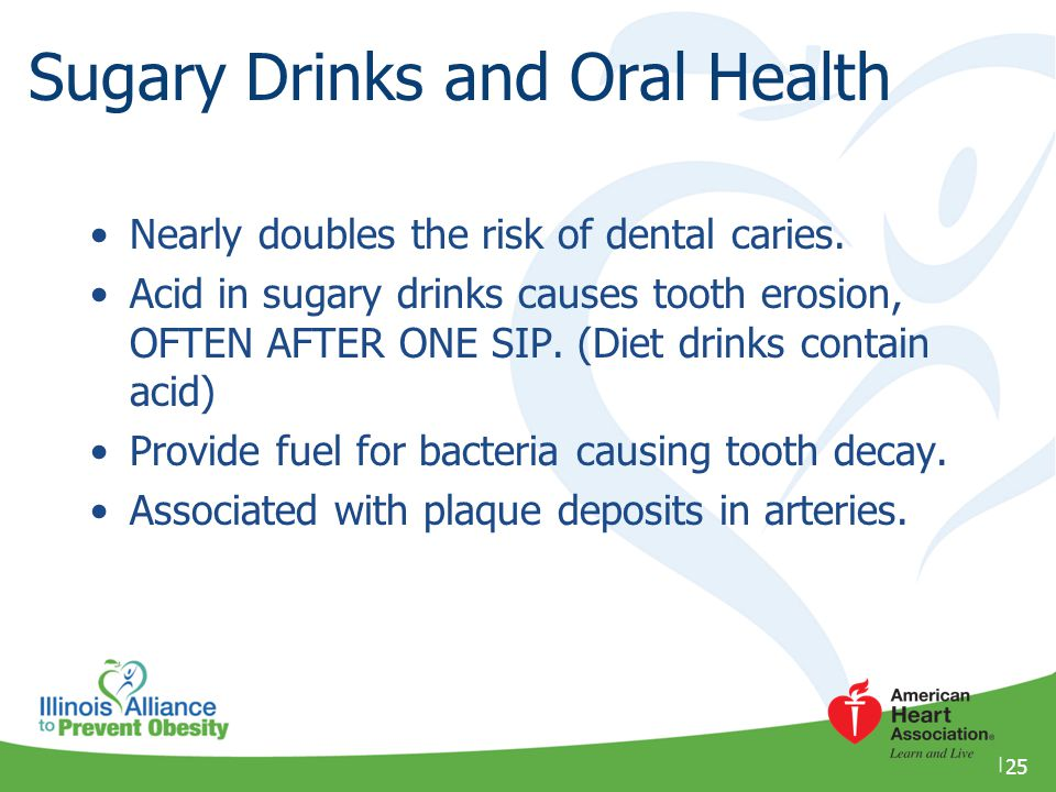 Sugary Drinks and Oral Health