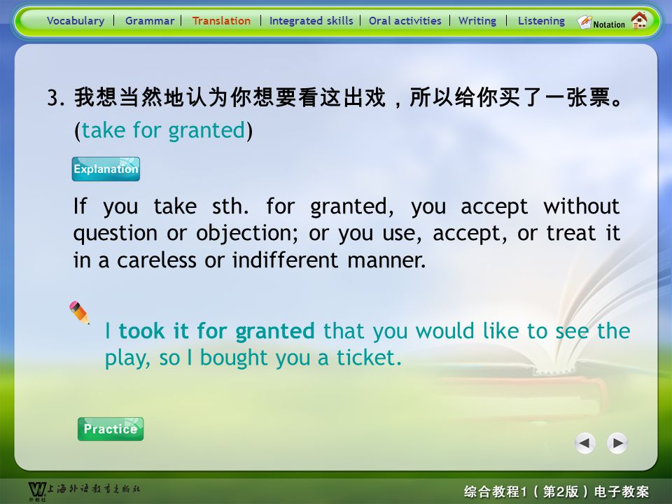Consolidation Activities- Translation3.1