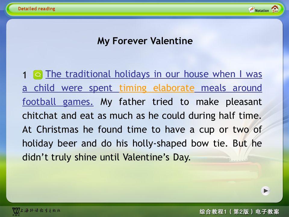 Detailed reading1 My Forever Valentine
