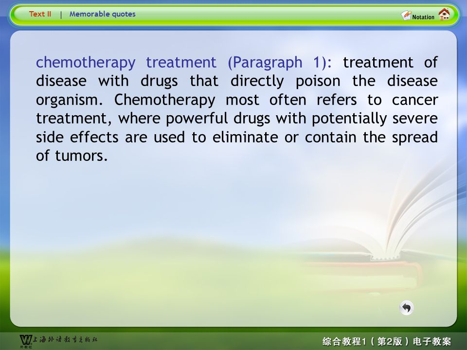 Text1 –chemotherapy treatment…