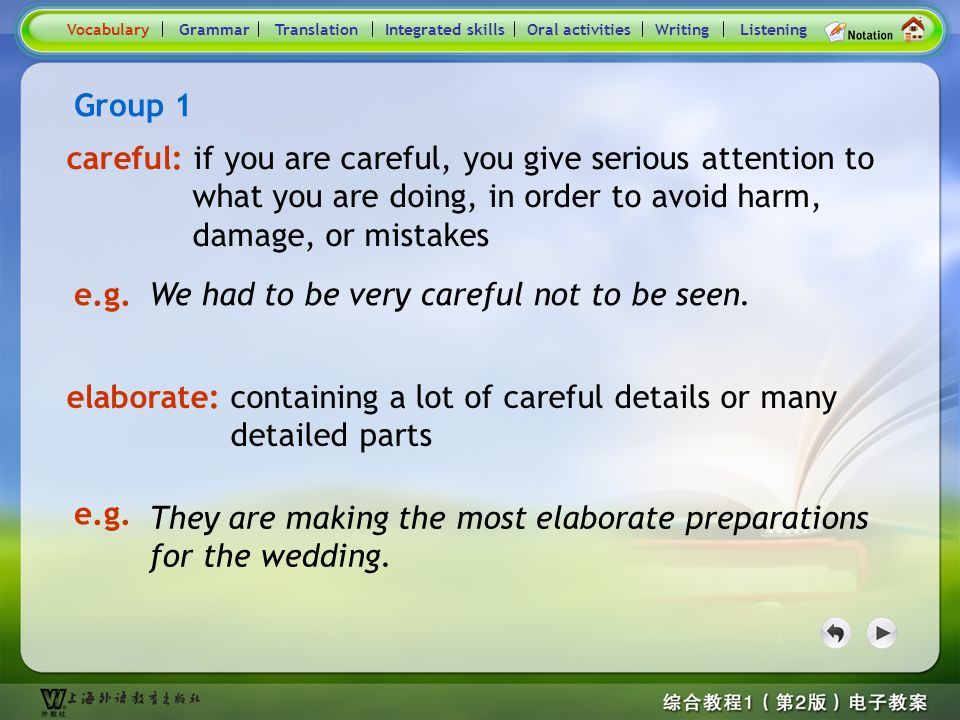Consolidation Activities- Word / Phrase comparison1.1