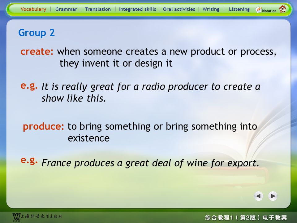 Consolidation Activities- Word / Phrase comparison2.1