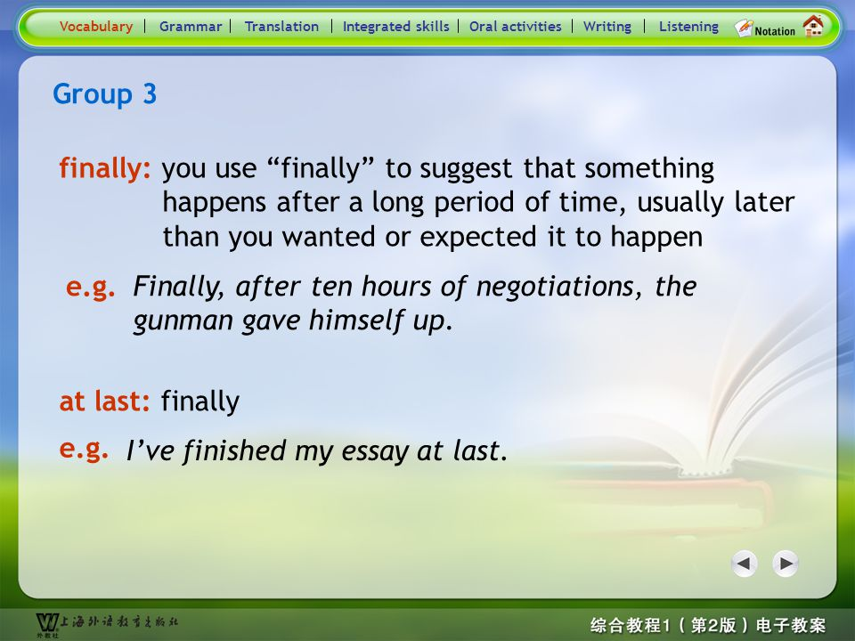 Consolidation Activities- Word / Phrase comparison3.2