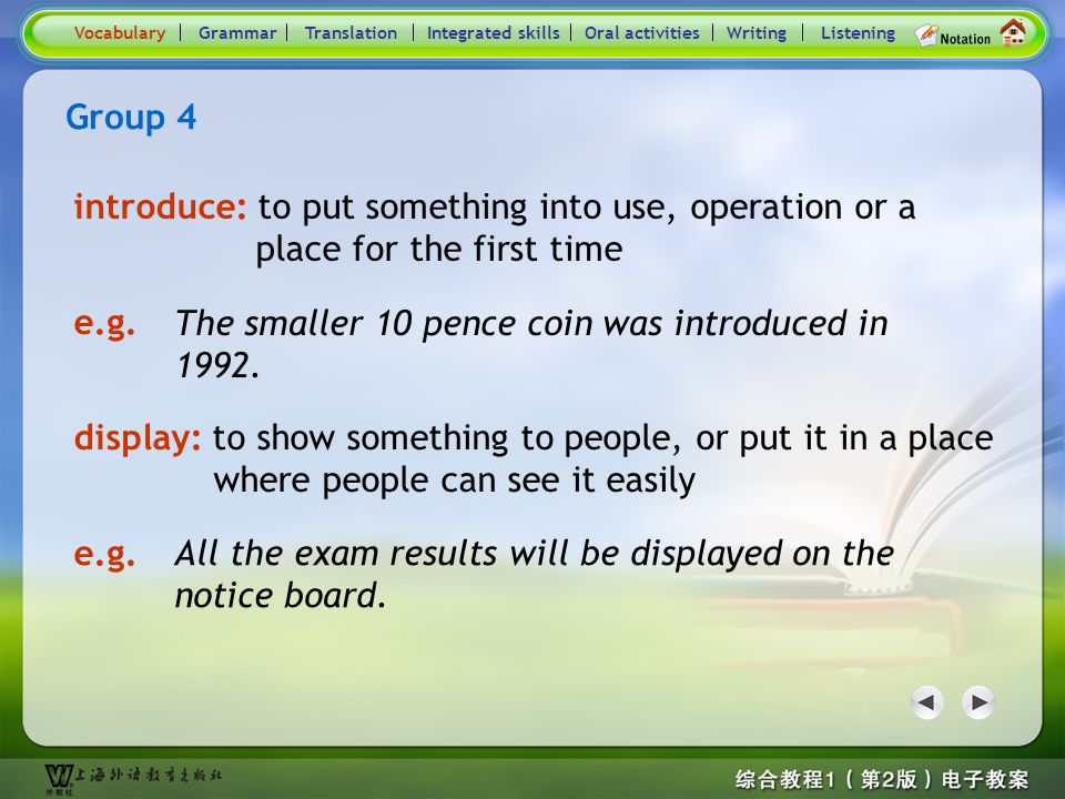 Consolidation Activities- Word / Phrase comparison4.2
