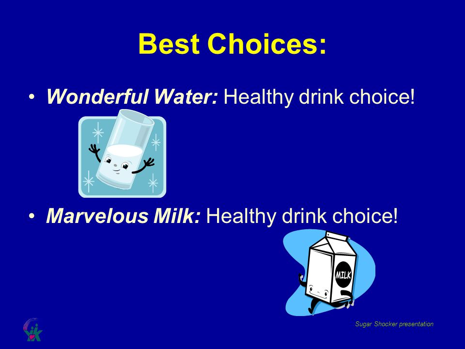 Best Choices: Wonderful Water: Healthy drink choice!