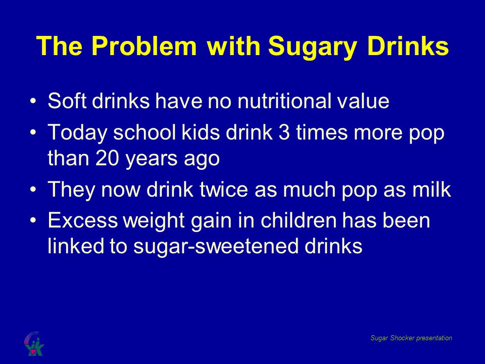 The Problem with Sugary Drinks