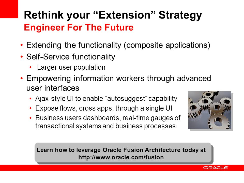 Rethink your Extension Strategy Engineer For The Future