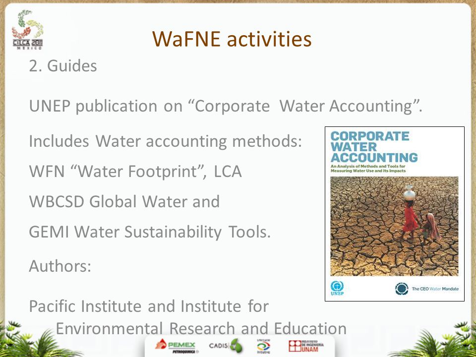 WaFNE activities 2. Guides
