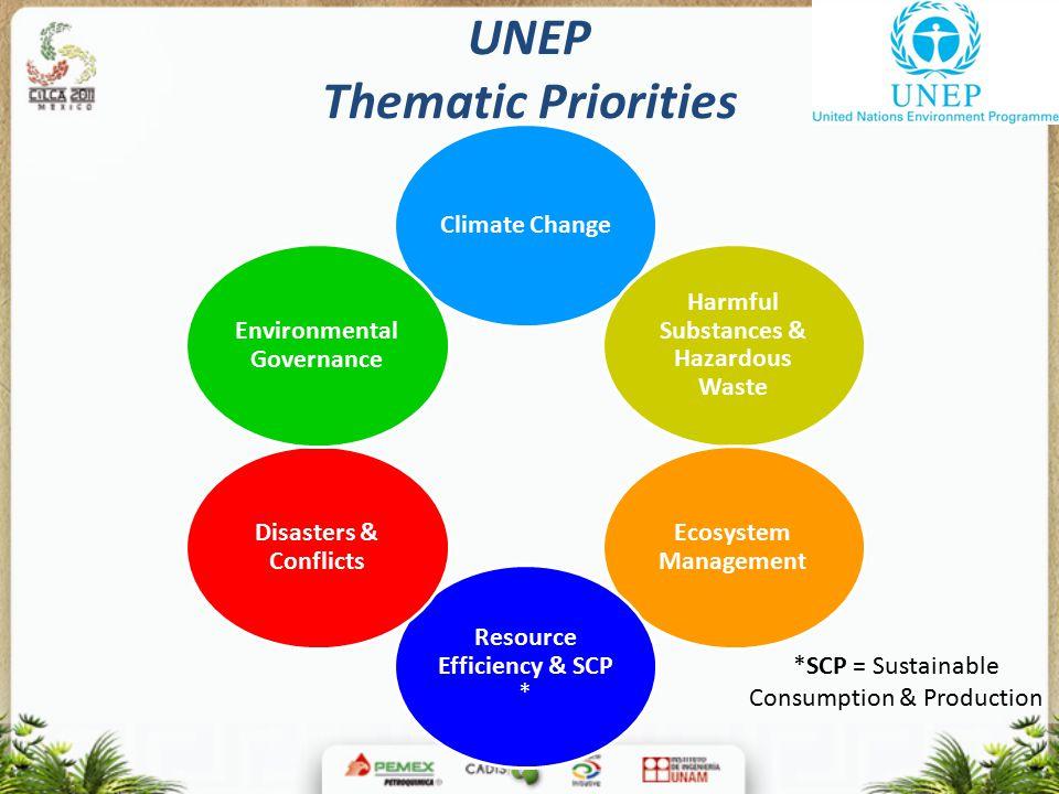 UNEP Thematic Priorities