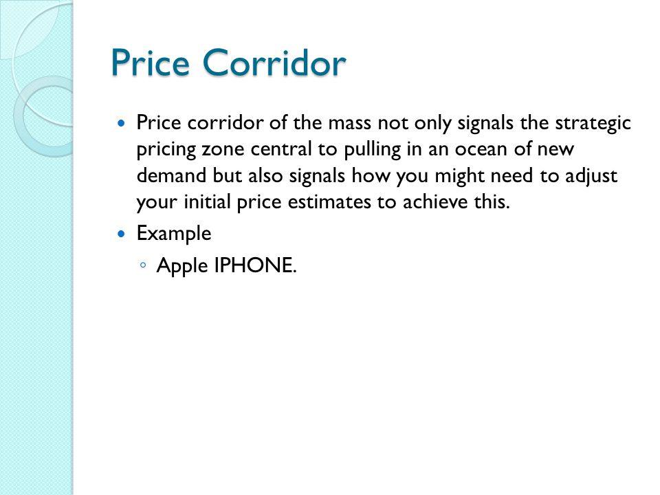 Price Corridor