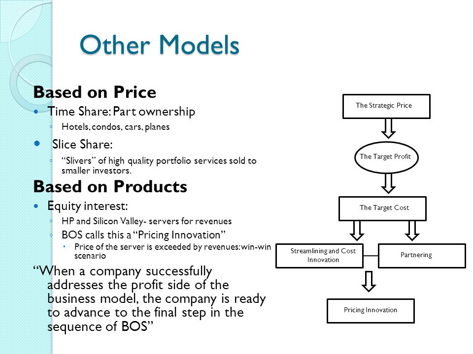 Streamlining and Cost Innovation