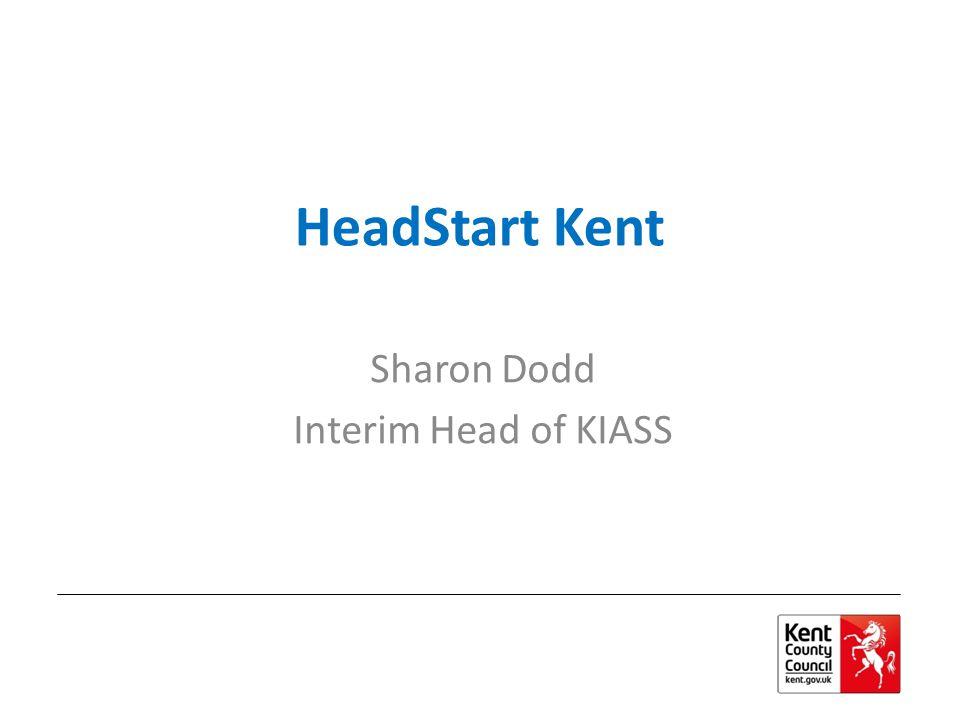 Sharon Dodd Interim Head of KIASS