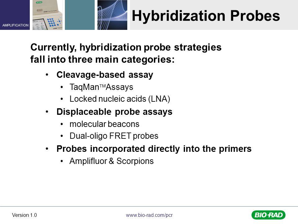 Hybridization Probes Currently, hybridization probe strategies