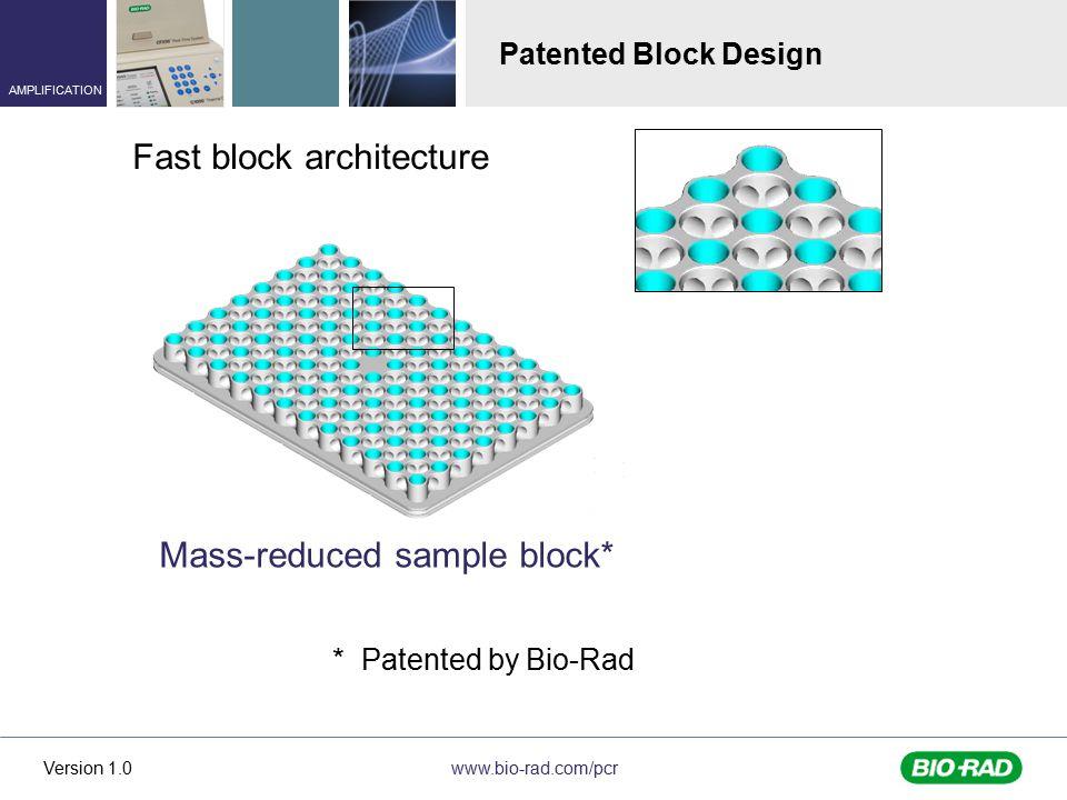Fast block architecture