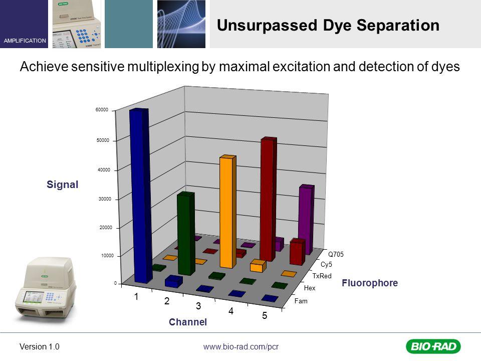 Unsurpassed Dye Separation
