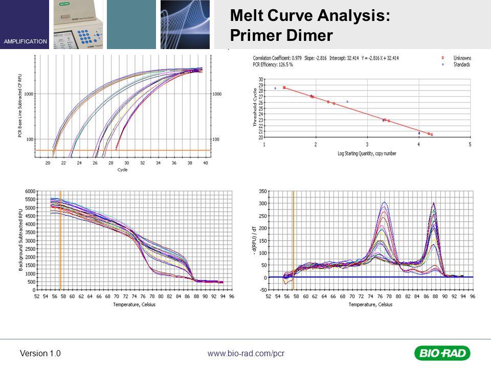 Melt Curve Analysis: Primer Dimer