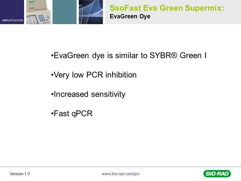 SsoFast Eva Green Supermix: EvaGreen Dye