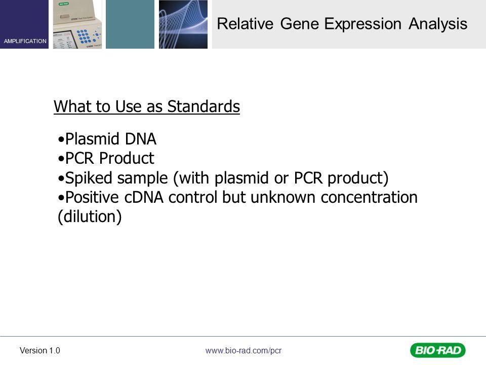 Relative Gene Expression Analysis