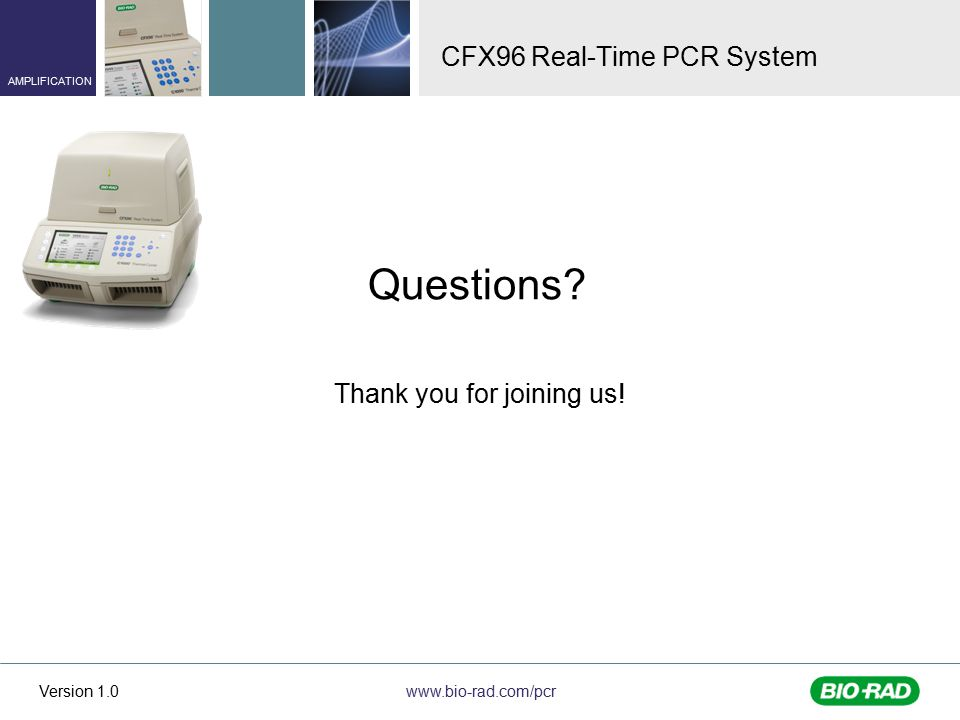CFX96 Real-Time PCR System