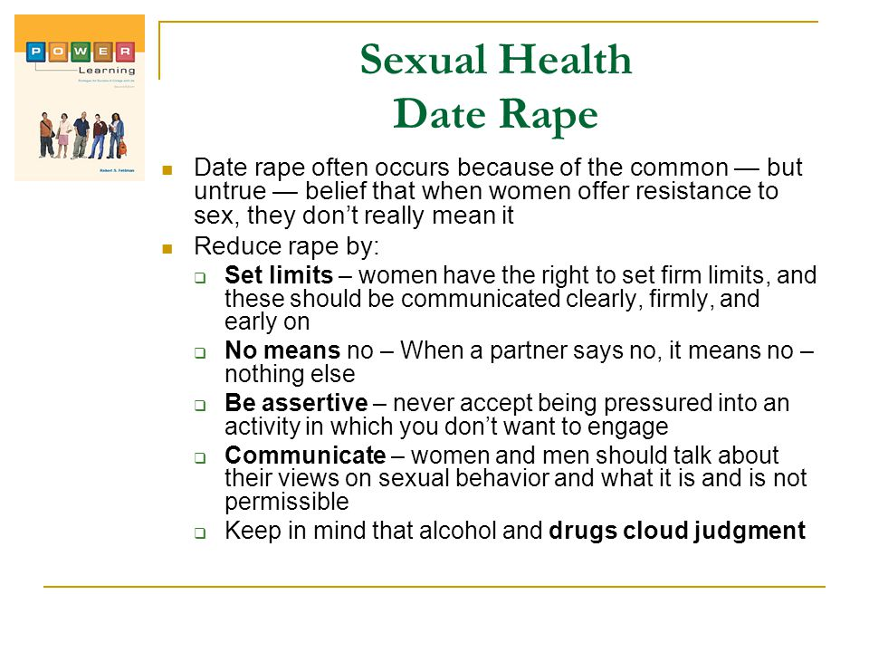 Sexual Health Date Rape