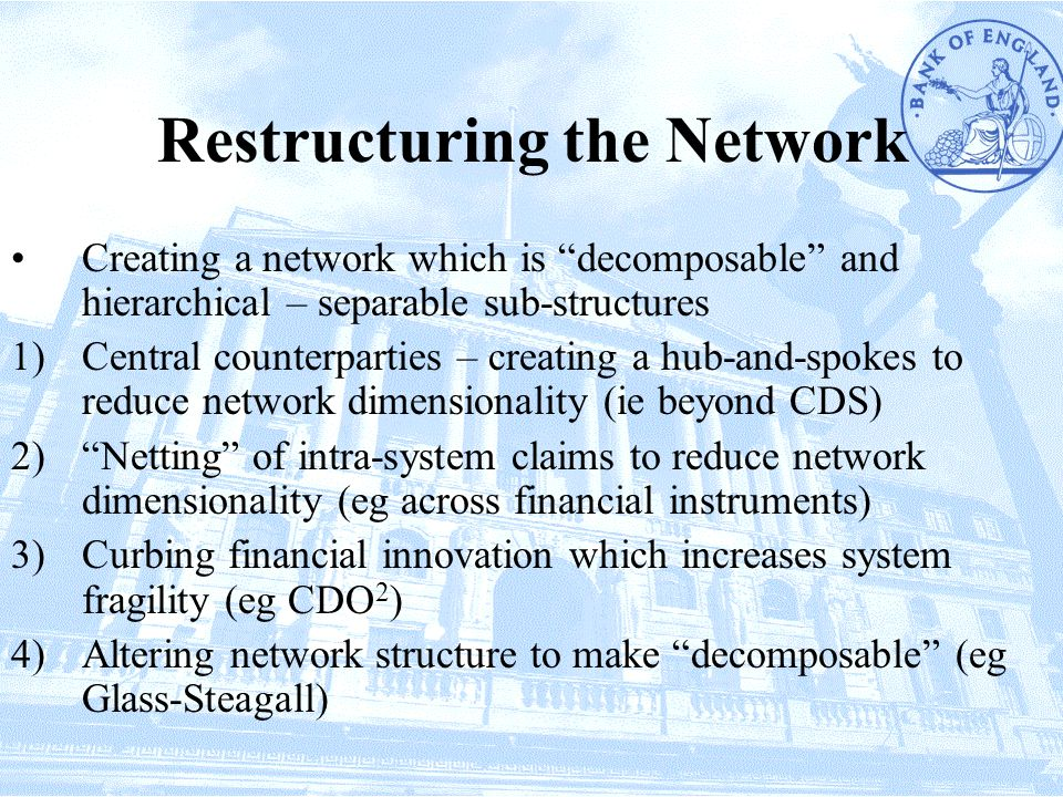 Restructuring the Network