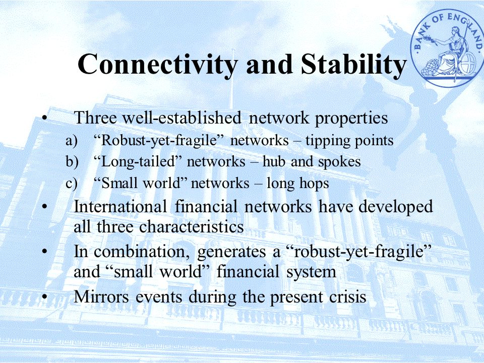 Connectivity and Stability