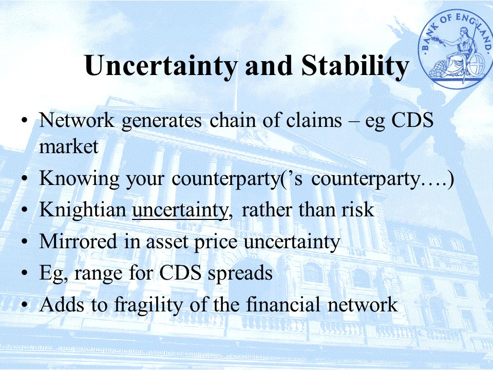 Uncertainty and Stability