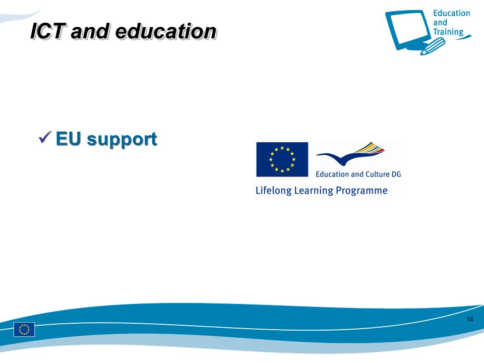 ICT and education EU support