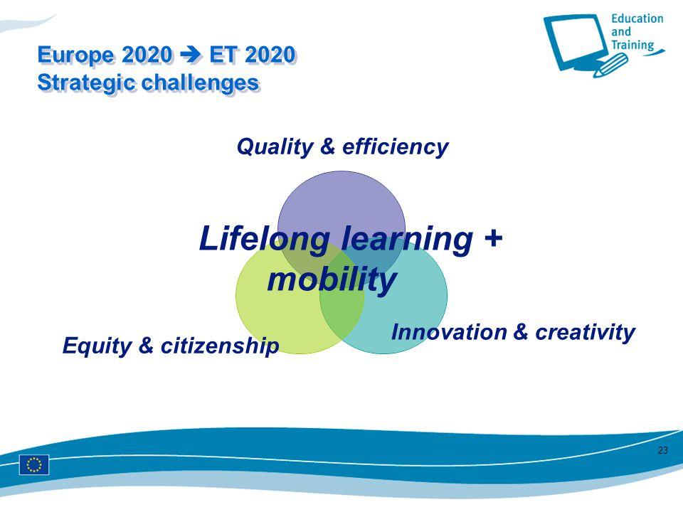 Lifelong learning + mobility