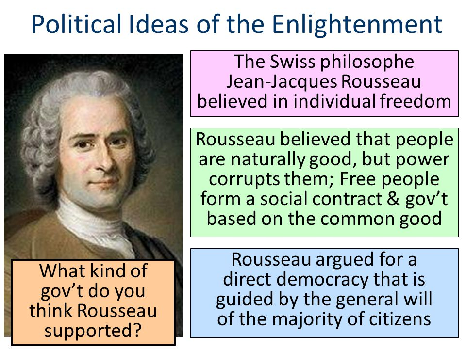 the ideas of a proper political system by rousseau and burke The place of natural law in burke's political theory8 some say it was  fundamental others  revolution-he was opposed, on epistemological principle,  to system- atic theory-but  but they were not good judges of the real causes of  their oppression, nor  little28 but burke also held rousseau's virtue to be  sham this sham.