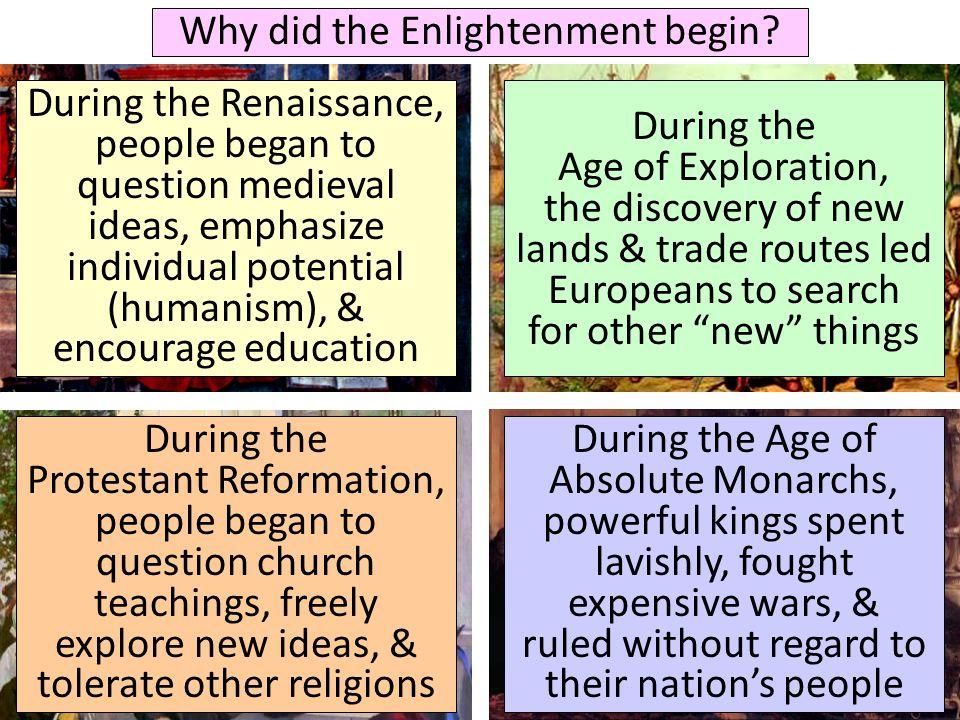 The World Made New Why The Age Of Exploration Happened: What Were The Key Ideas Of The Enlightenment?