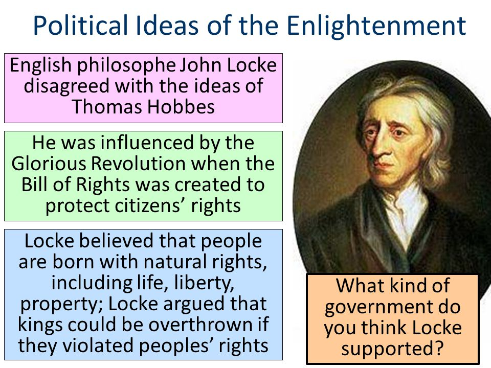 Hobbes and enlightenment ideas
