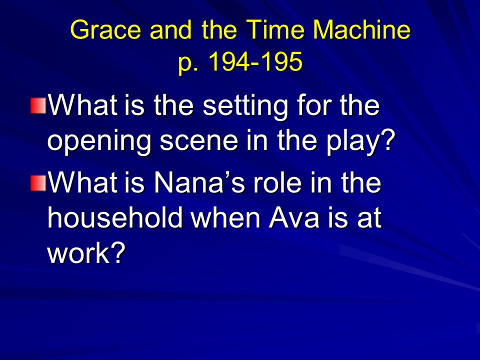 Grace and the Time Machine p. 194-195