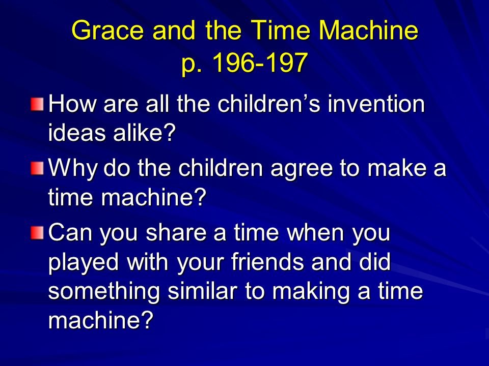 Grace and the Time Machine p. 196-197