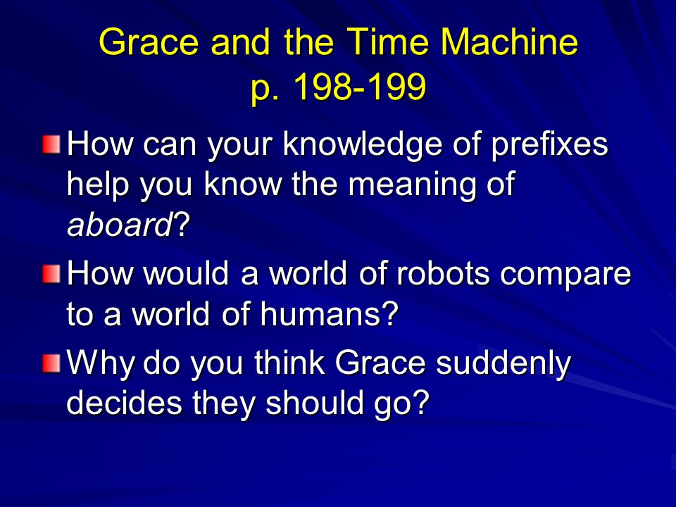 Grace and the Time Machine p. 198-199