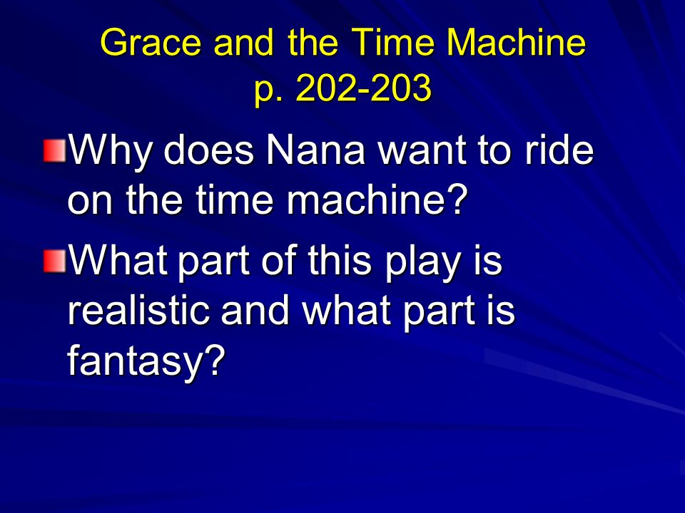 Grace and the Time Machine p. 202-203