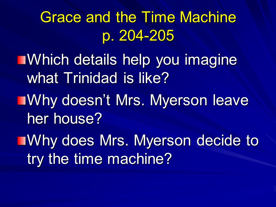 Grace and the Time Machine p. 204-205