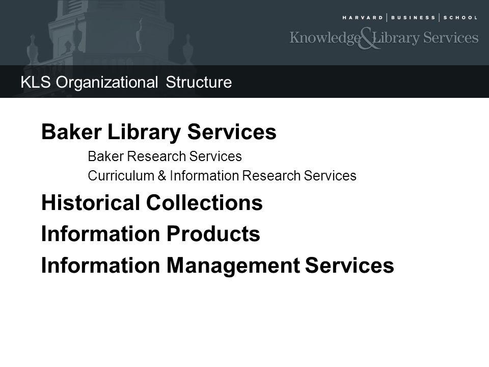 KLS Organizational Structure