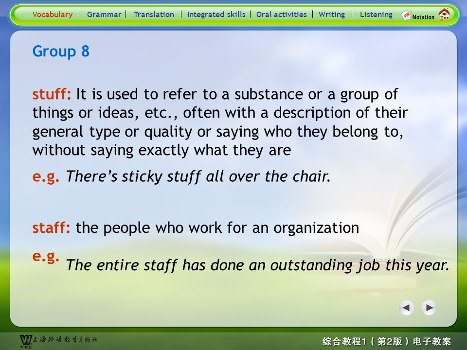 Consolidation Activities- Word / Phrase comparison8
