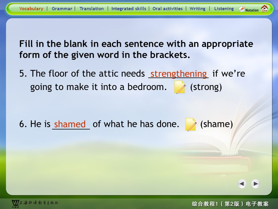 Consolidation Activities- Word derivation3